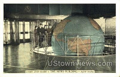The News Bldg - New York City Postcards, New York NY Postcard