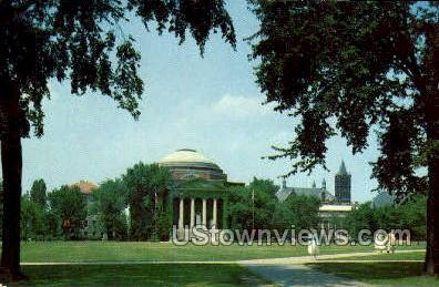 Old Oval - Syracuse, New York NY Postcard