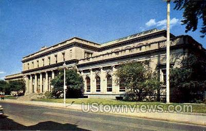 Central Post Office - Schenectady, New York NY Postcard
