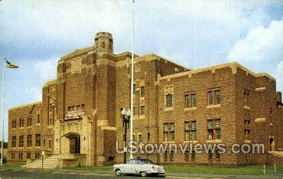 Washington Ave. Armory - Schenectady, New York NY Postcard