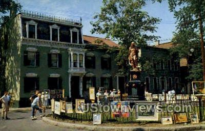 The Indian - Schenectady, New York NY Postcard