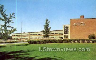 Watertown High School - New York NY Postcard
