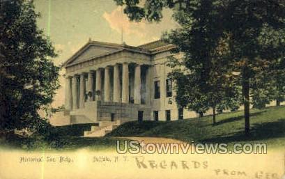 Historical Soc. Bldg - Buffalo, New York NY Postcard
