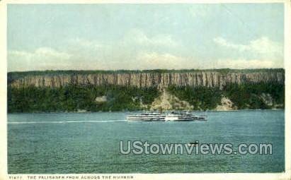 The Palisades - Hudson, New York NY Postcard