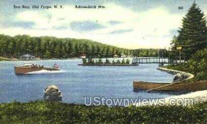 Bea Bay - Old Forge, New York NY Postcard