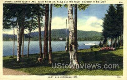 Fourth Lake, Adirondack Mts - Inlet, New York NY Postcard