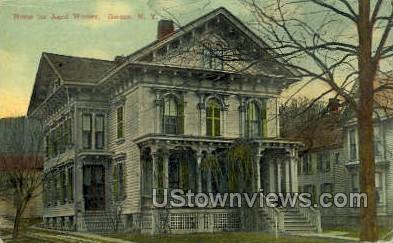 Home for Aged Women - Owego, New York NY Postcard