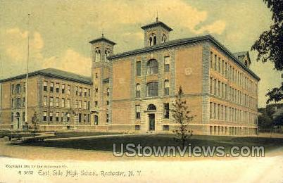 East Side High School - Rochester, New York NY Postcard