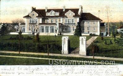 Bailey Estate - Mt Vernon, New York NY Postcard