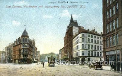 East Genesee - Syracuse, New York NY Postcard