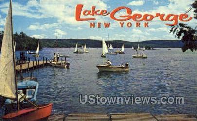 Lake George, New York, NY Postcard