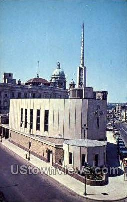 First Methodist Church - Syracuse, New York NY Postcard