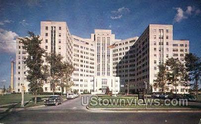 Veterans Admin. Hospital - Buffalo, New York NY Postcard