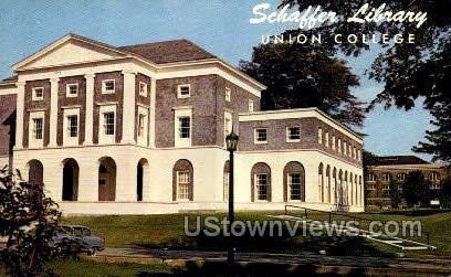 Union College - Schenectady, New York NY Postcard