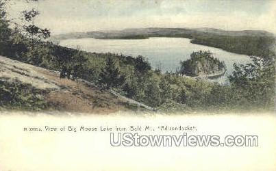 Big Moose Lake - Adirondack Mts, New York NY Postcard