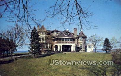 Cormaria Retreat House - Long Island, New York NY Postcard