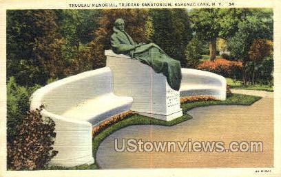 Trudeau Sanatroium - Saranac Lake, New York NY Postcard