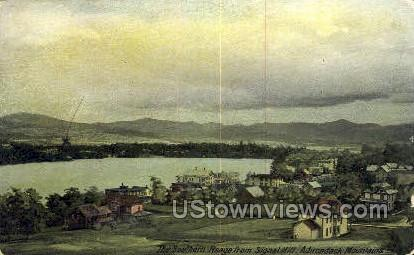 Souther Range, Wignal Hill - Adirondack Mts, New York NY Postcard
