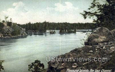 The Lost Channel - Thousand Islands, New York NY Postcard