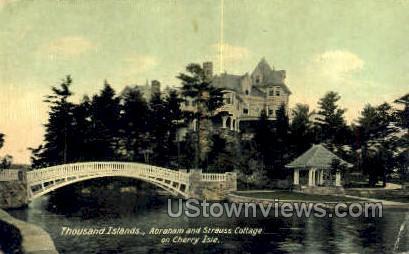 Cherry Isle - Thousand Islands, New York NY Postcard