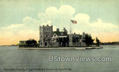 G.T. Rafferty's Residence - Thousand Islands, New York NY Postcard