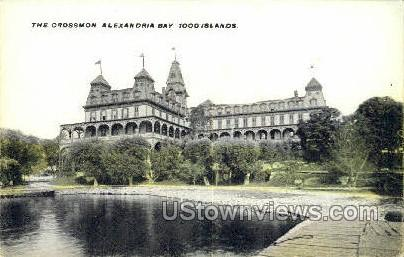 Crossmon, Alexandria Bay - Thousand Islands, New York NY Postcard