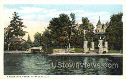 Linden Cove - Thousand Islands, New York NY Postcard