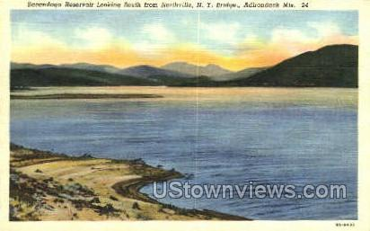 Sacandaga Reservoir - Adirondack Mts, New York NY Postcard