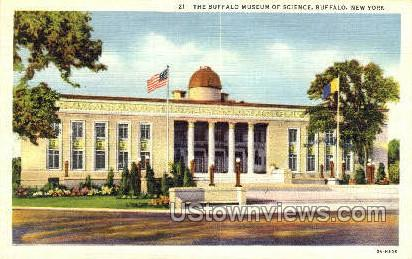 Buffalo Museum of Science - New York NY Postcard