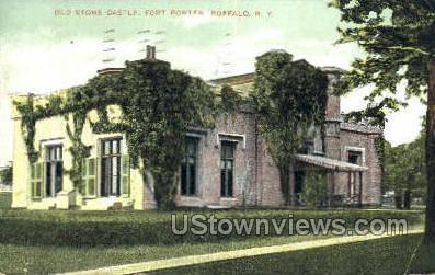 Old Stone Castle - Buffalo, New York NY Postcard