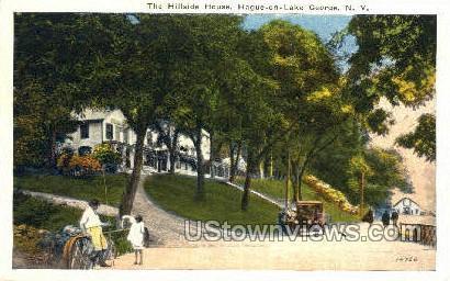 Hillside House - Lake George, New York NY Postcard