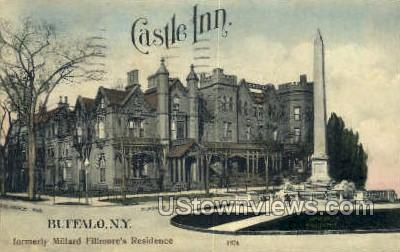 Castle Inn - Buffalo, New York NY Postcard