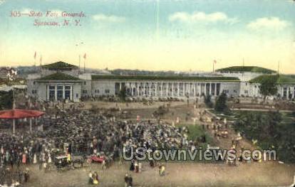 State Fair Grounds - Syracuse, New York NY Postcard