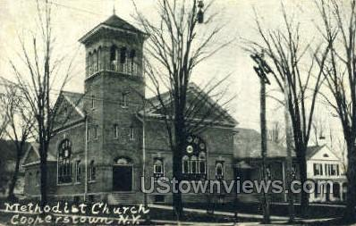 Methodist Church - Cooperstown, New York NY Postcard