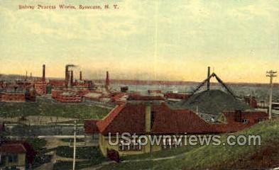 Solvay Process Works - Syracuse, New York NY Postcard