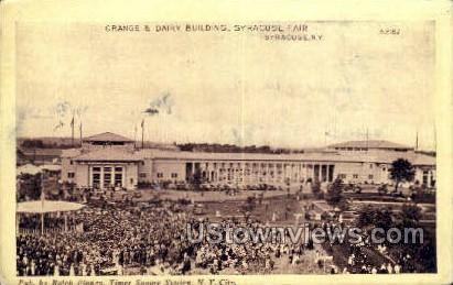 Grange & Dairy Bldg - Syracuse, New York NY Postcard
