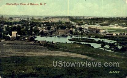 Malone, New York, NY Postcard