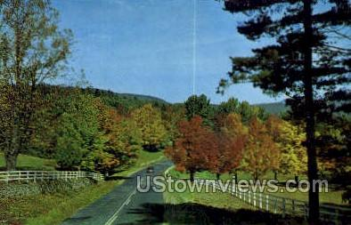 Autumn Serenade - Misc, New York NY Postcard