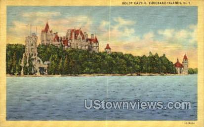 Boldt Castle - Thousand Islands, New York NY Postcard