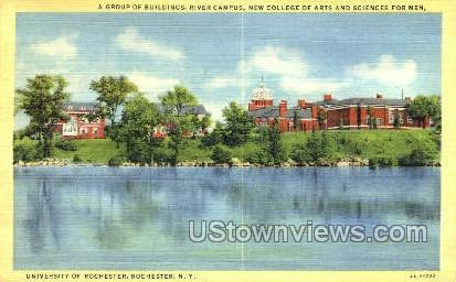 University of Rochester - New York NY Postcard