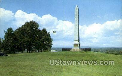 Oriskany Monument - Utica, New York NY Postcard
