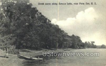 Seneca Lake - Penn Yan, New York NY Postcard