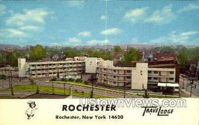Travel Lodge - Rochester, New York NY Postcard