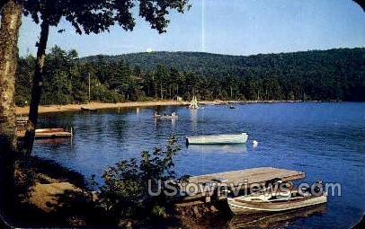 Limekiln Lake - Inlet, New York NY Postcard