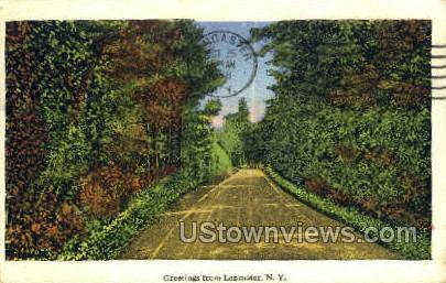 Lancaster, New York, NY Postcard