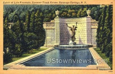Spencer Trask Estate - Saratoga Springs, New York NY Postcard