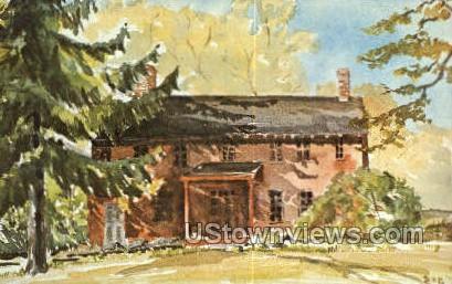 Obadiah Smith House - Long Island, New York NY Postcard
