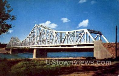 Barnhart Island Bridge - Misc, New York NY Postcard