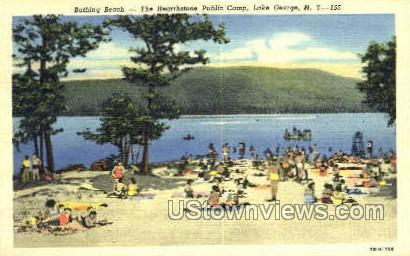 Hearthstone Public Camp - Lake George, New York NY Postcard