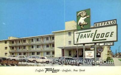 Buffalo Travel Lodge - New York NY Postcard